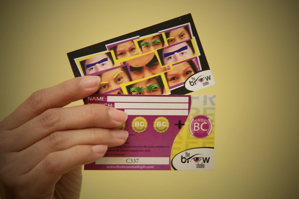 Brow Studio Gift Certificates can be bought and given away as gifts