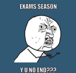 exams season
