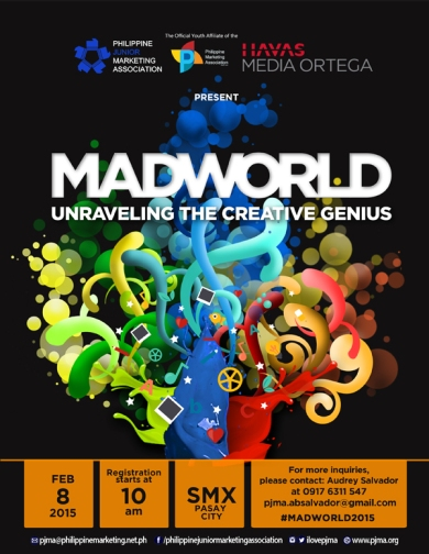 PJMA MAD WORLD 2015 OFFICIAL EVENT POSTER web