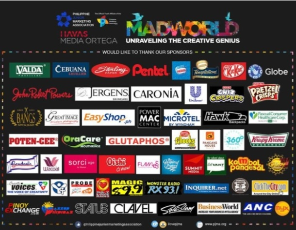 Mad World sponsors and partners