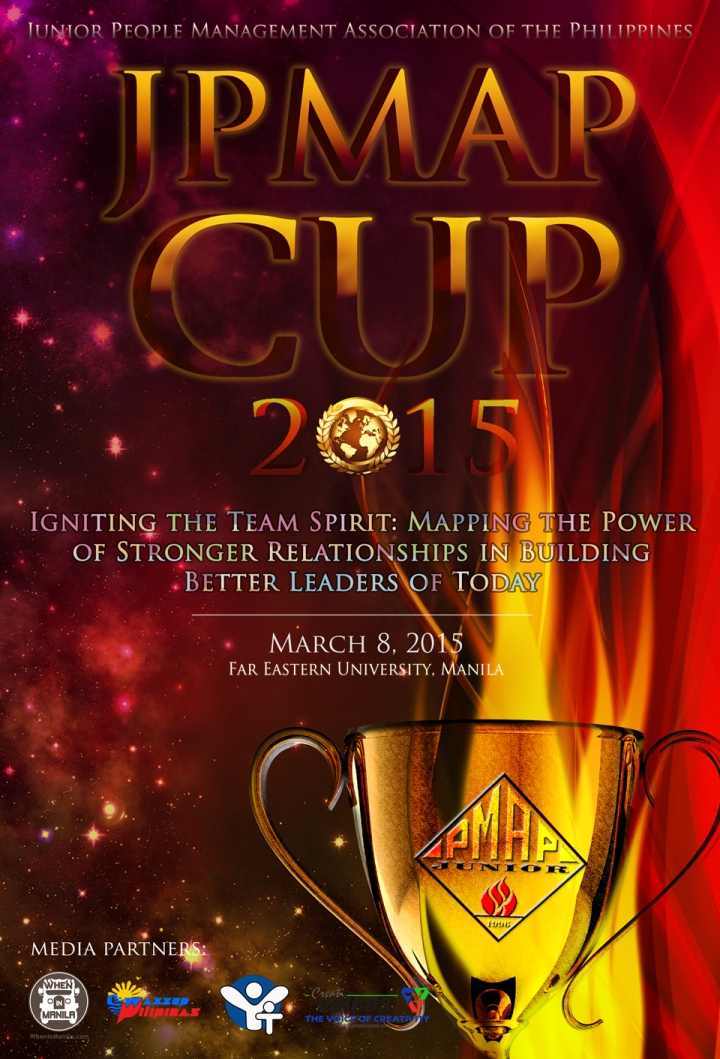 JPMAP CUP 2015 - Official Poster w Sponsors