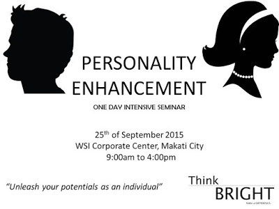 PERSONALITY ENHANCEMENT