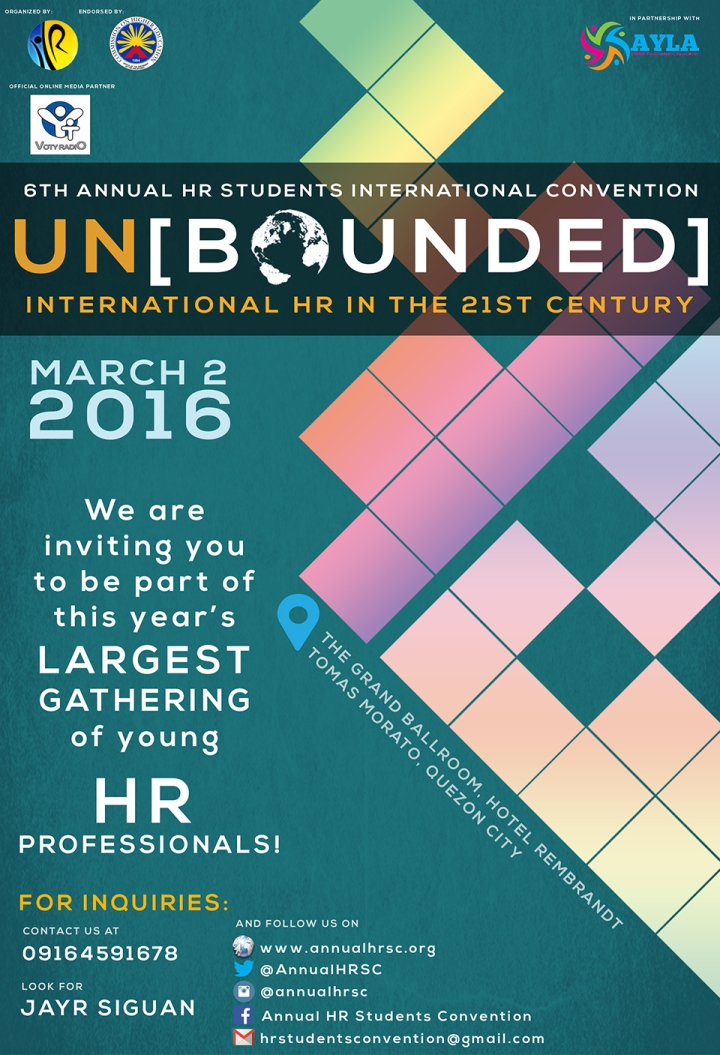 HRSIC 2016 Poster