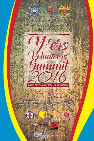 Y-ers Volunteers Summit 2016