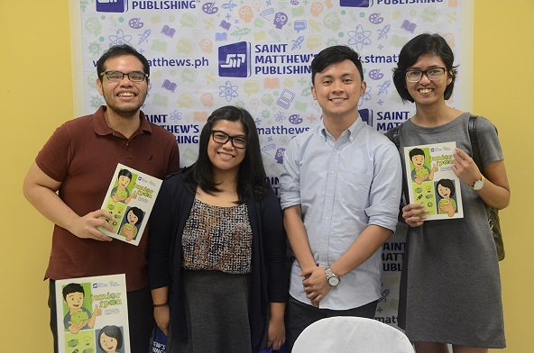 Author Mark Kevin de Guia shares a photo with his friends from college.