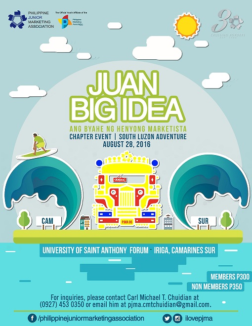 PJMA's Juan Big Idea South Luzon Adventure