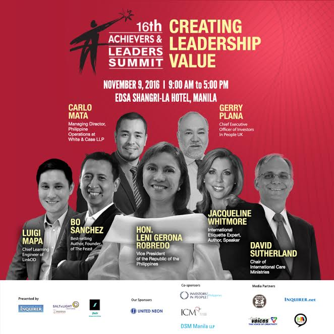 Salt and Light Ventures' 16th Achievers & Leaders Summit