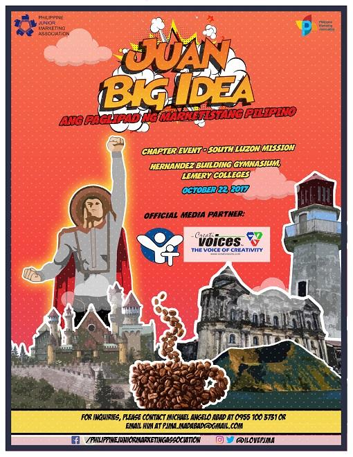 PJMA's Juan Big Idea: The South Luzon Mission