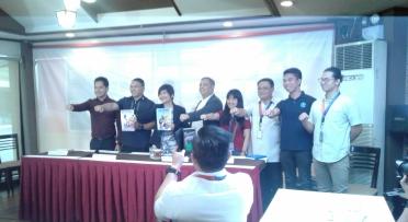 National Youth Commission Press (NYC) Conference for the Sangguniang Kabataan (SK) elections at Quezon City Memorial Circle