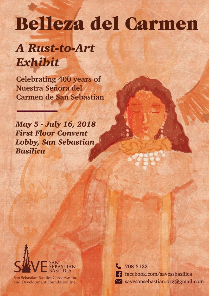 Belleza Del Carmen Official Event Poster