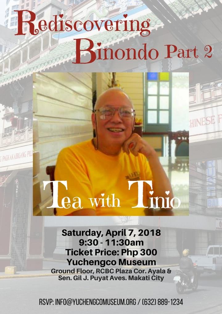 Tea with Tinio