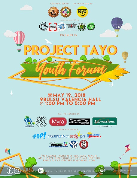 Project TAYO: Youth Forum 2018
