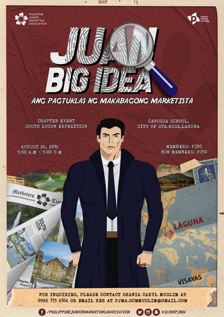 PJMA Juan Big Idea South Luzon Expedition